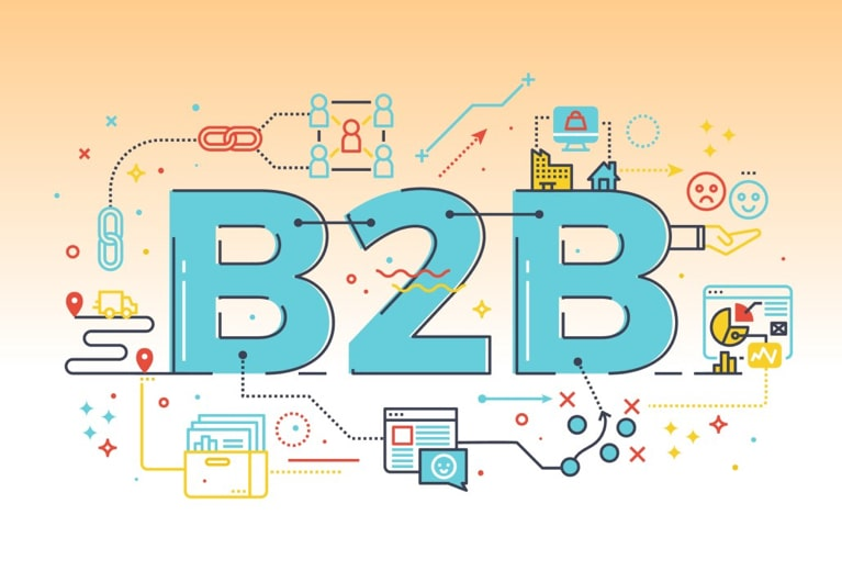b2b lead generation graphic
